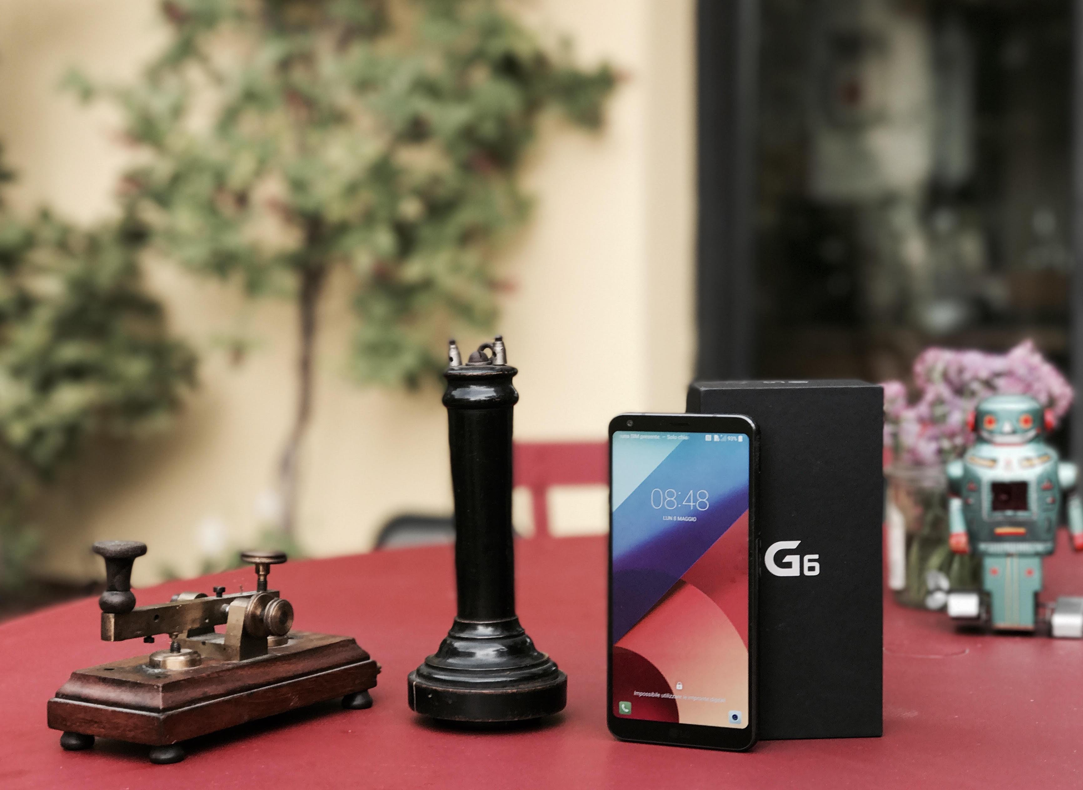 Nuovo smartphone LG G6, che foto!
