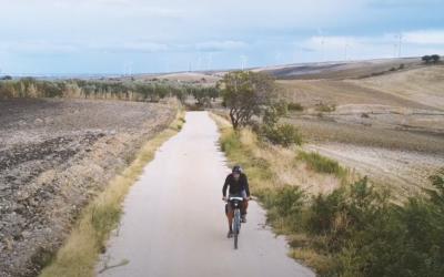 Visita al parco eolico in Bicicletta