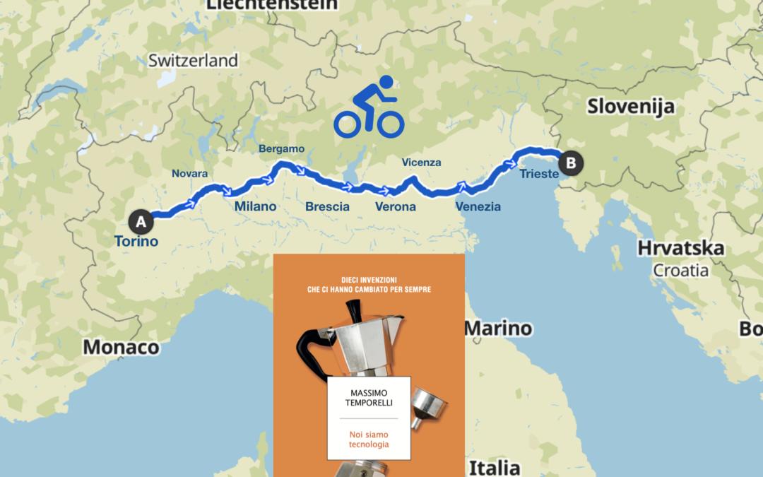 Noi siamo Tecnologia Book Bike Tour